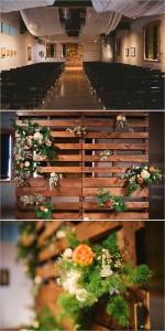 13 mariage idées de décoration à l'aide des palettes12