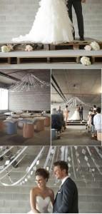 13 mariage idées de décoration à l'aide des palettes4