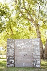 13 mariage idées de décoration à l'aide des palettes7