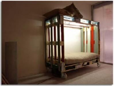 8 idées de lit superposés faits entièrement avec des palettes3