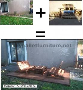 Améliorez votre jardin avec seulement quelques palettes en bois1