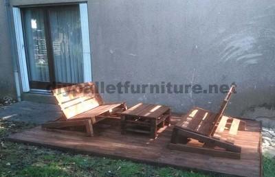 Améliorez votre jardin avec seulement quelques palettes en bois2