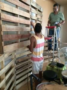 Casa de Adoración y Restauration et à Puerto Rico, utilise 22 palettes de construire un scénario3