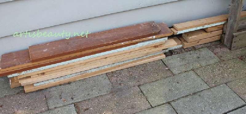 Comment construire une petite table vintage pour le jardin en ...