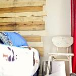 Comment construire une tête de lit de palettes pour un lit pour enfants