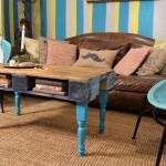 Comment transformer une palette dans une table de hipster pour le salon
