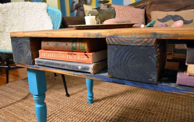 Comment transformer une palette dans une table de hipster - Transformer des palettes en meuble ...