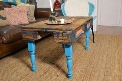 Comment transformer une palette dans une table de hipster pour le salon14