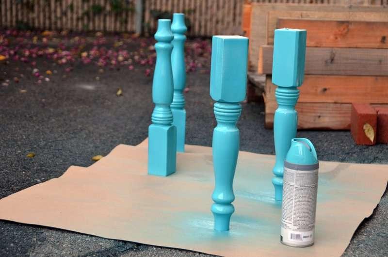 Comment transformer une palette dans une table de hipster - Comment rehausser une table ...