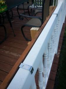 Construire 2 planteurs pour une clôture à l'aide d'une palette11