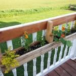 Construire 2 planteurs pour une clôture à l'aide d'une palette