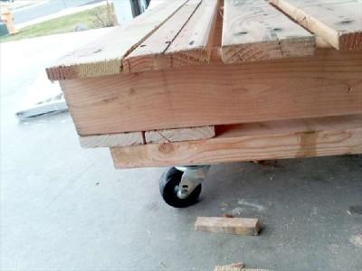 Construire un petit lit pour les enfants avec seulement deux palettes5