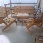 Faites votre propre chaise pliantemeuble en palette for Faites votre propre maison