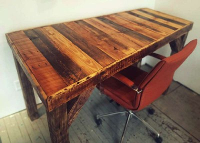 How to build a vintage desktop table for your office 1