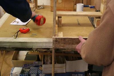 Instructions pour construire un omble chevalier avec une seule palette10