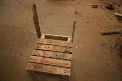Instructions pour construire un omble chevalier avec une seule palette13