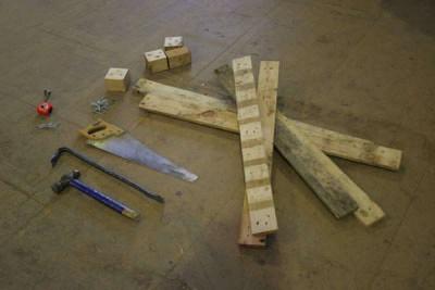 Instructions pour construire un omble chevalier avec une seule palette3