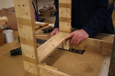Instructions pour construire un omble chevalier avec une seule palette9