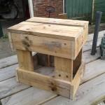 Instructions pour construire un tabouret avec des palettes
