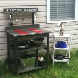 Instructions pour construire une cuisine de jeu avec palettes10
