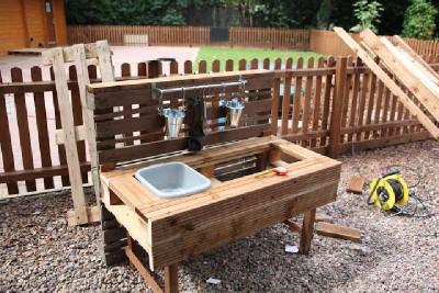 Instructions pour construire une cuisine de jeu avec palettes5
