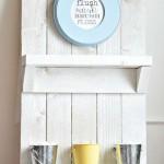 Instructions pour créer un support de palette pour des meubles de salle de bains