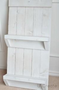 Instructions pour créer un support de palette pour des meubles de salle de bains6