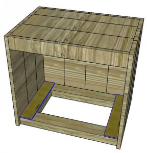 Instructions sur la façon de construire une table de chevet avec des palettes 13