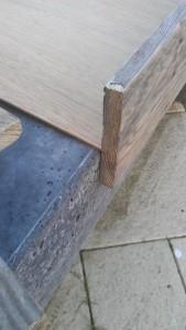 Instructions sur la façon de construire une table de chevet avec des palettes 15