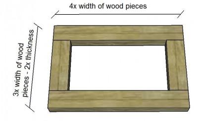 Instructions sur la façon de construire une table de chevet avec des palettes 5