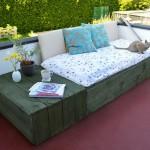 Instructions sur la façon de faire un canapé pour la terrasse à l'aide des palettes