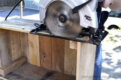 Instructions sur la façon de faire une boîte de palettes de stockage10