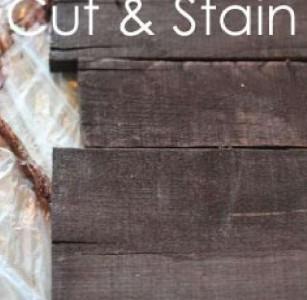 Instructions sur la façon de faire une murale en bois de Noël avec palettes5