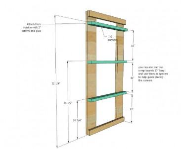 Les plans et les instructions pour construire un tiroir pour votre lessive4