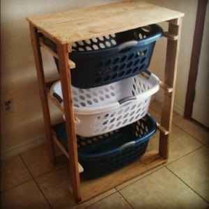 Les plans et les instructions pour construire un tiroir pour votre lessive7