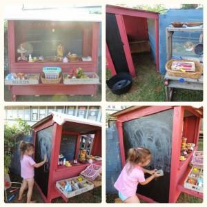 Petite boutique pour vos enfants à jouer construite avec des palettes7