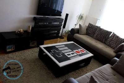 Une palette tableau NES, fait avec 2 palettes8