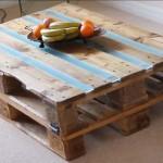 Vidéo des instructions sur la façon de faire une table avec deux palettes