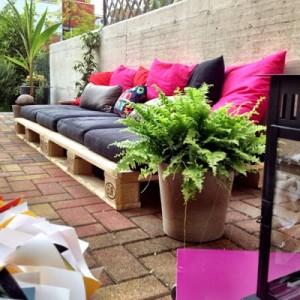 10 idées merveilleux de décoration pour votre jardin à l'aide de palettes 9