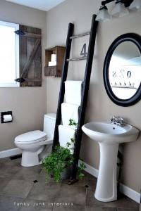 Construire une volet rustique pour votre toilette utilisant des planches de palettes 13