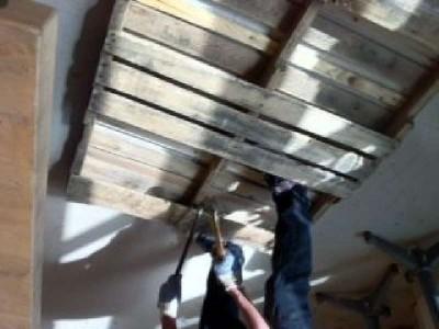 Instruction de la façon de construire une chaise berçante à l'aide des palette2