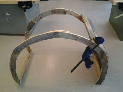 Instruction de la façon de construire une chaise berçante à l'aide des palette7