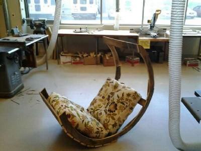 Instruction de la façon de construire une chaise berçante à l'aide des palette9