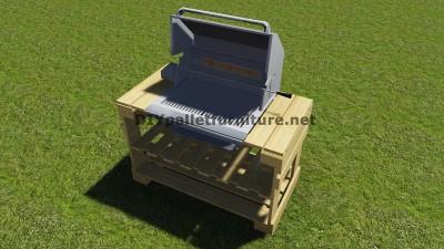 Instructions et des plans pour construire un barbecue avec palettes étape par étape 10