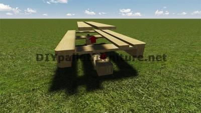 Instructions et des plans pour construire un barbecue avec palettes étape par étape 3