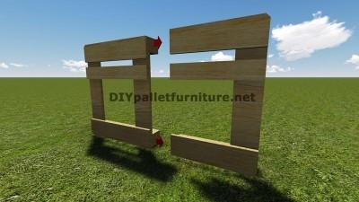 Instructions et des plans pour construire un barbecue avec palettes étape par étape 4