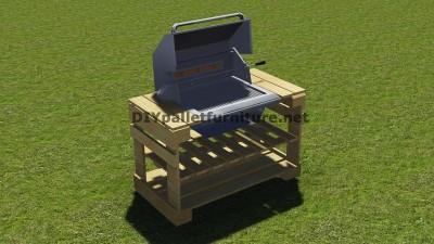 Instructions et des plans pour construire un barbecue avec palettes étape par étape 9