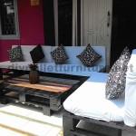 Lounge de palettes pour votre patio ou le jardin