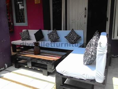 Lounge de palettes pour votre patio ou le jardin 2