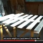 Vidéo de comment faire un arbre de Noël avec des palettes